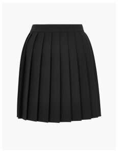 M&S Collection Pleated Mini Skirt