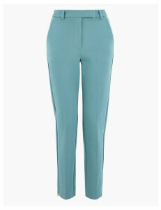 M&S Collection Mia Slim Ponte Ankle Grazer Trousers