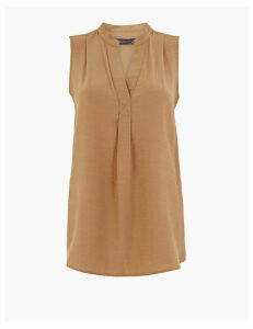 M&S Collection V-Neck Shell Top