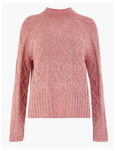 Per Una Cable Knit Regular Fit Jumper