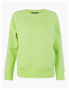 GOODMOVE Cotton Rich Sweatshirt