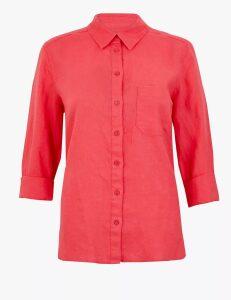 M&S Collection Pure Linen Shirt