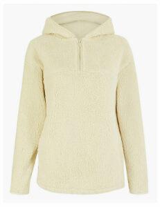 GOODMOVE Half Zip Hooded Sweatshirt