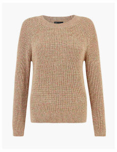 M&S Collection Pure Cotton Relaxed Fit Jumper