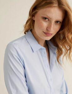 M&S Collection Cotton Rich Shirt
