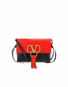 Valentino Designer Handbags, Color Block Vring Crossbody Bag