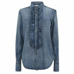 Saint Laurent Denim Blouse