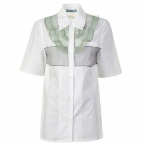 Prada Plisse Short Sleeved Shirt