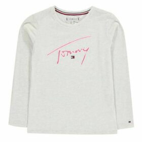 Tommy Hilfiger Signature Long Sleeve T Shirt