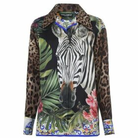 Dolce and Gabbana Dolce And Gabbana Print Blouse
