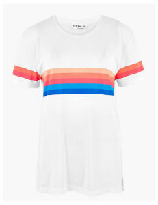 GOODMOVE Crew Neck Relaxed Fit T-Shirt