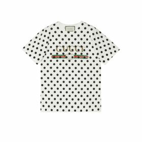 Gucci logo polka dot print T-shirt