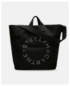 Stella McCartney Black Black Beach Bag, Women's, Size OneSize