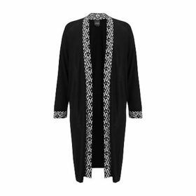 Persona by Marina Rinaldi Makeup Cardigan, Black