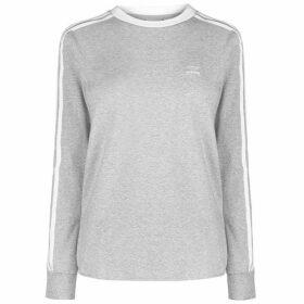 adidas Originals 3 Striped Long Sleeve T Shirt