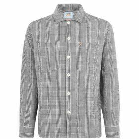 Farah Vintage Farah S Check Shirt Sn02 - 006 Deep Black