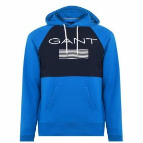 Gant Stripe Hoodie - Blue 422