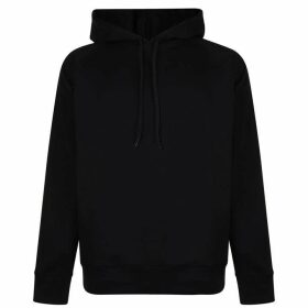 HUGO Dayfun Logo Hooded Sweatshirt - Black/Black