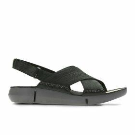 Tri Chloe Nubuck Leather Sandals