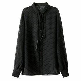 Long Polka Dot Shirt
