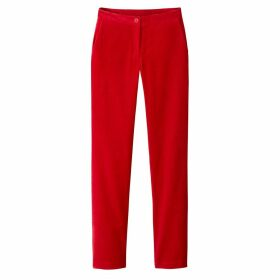 Cotton Mix Trousers, Length 32