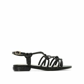 Flat Sandals with Thin Straps