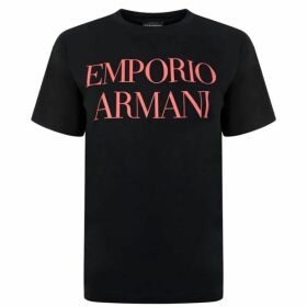 Emporio Armani Logo Short Sleeved T Shirt