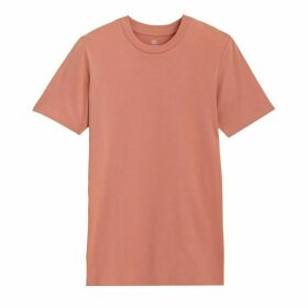 Cotton Crew-Neck T-Shirt with Short Sleeves
