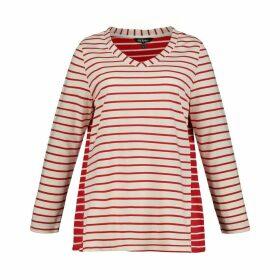 V-Neck Breton Sweatshirt
