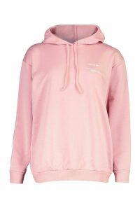 Womens 'Wear Me' Slogan Hoodie - Pink - 12, Pink