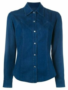 Romeo Gigli Pre-Owned denim shirt - Blue