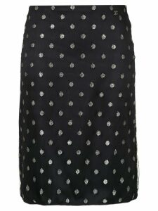 Chanel Pre-Owned 2003 CC skirt - Blue