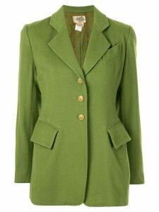 Hermès pre-owned long sleeve jacket - Green