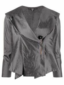 Gianfranco Ferré Pre-Owned 1990s off-centred pin fastening jacket -