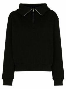 Reebok x Victoria Beckham x Victoria Beckham cropped zip-up sweatshirt