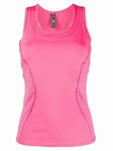 adidas by Stella McCartney mesh panels tank top - PINK