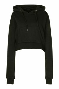 Womens Mix And Match Edition Oversized Hoodie - Black - L, Black