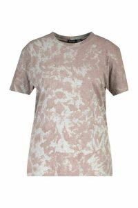 Womens Plus Acid Washed T-Shirt - Grey - 20-22, Grey