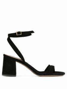 L'Autre Chose open toe 75mm buckled sandals - Black
