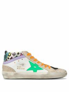 Golden Goose Mid-Star hi-top sneakers - White