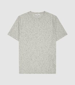 Reiss Dover - Melange T-shirt in Grey, Mens, Size XXL