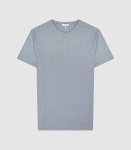 Reiss Williams - Cotton-blend Crew Neck T-shirt in Petrol, Mens, Size XXL