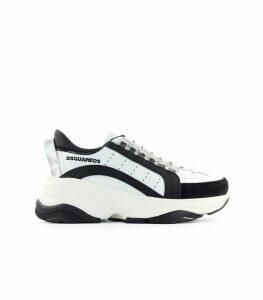 Dsquared2 Bumpy White Black Sneaker