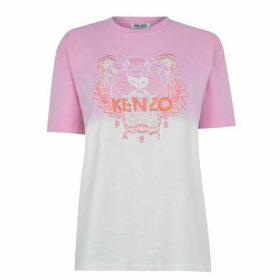 Kenzo Tie Die Tiger T Shirt