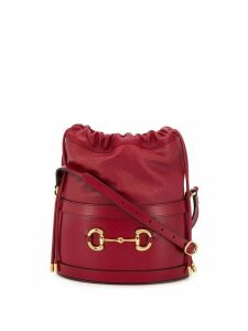 Gucci Gucci 1955 Horsebit bucket bag - Red