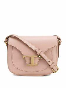 Tod's T monogram shoulder bag - PINK