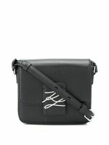 Karl Lagerfeld K/Autograph logo crossbody bag - Black