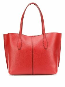 Tod's open top tote bag - Red