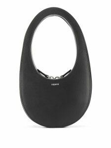 Coperni Swipe logo hobo bag - BLACK