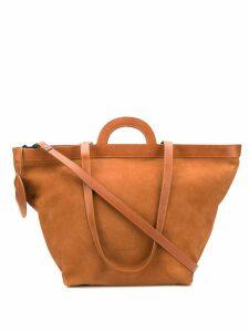 Marsèll top handle tote bag - Brown